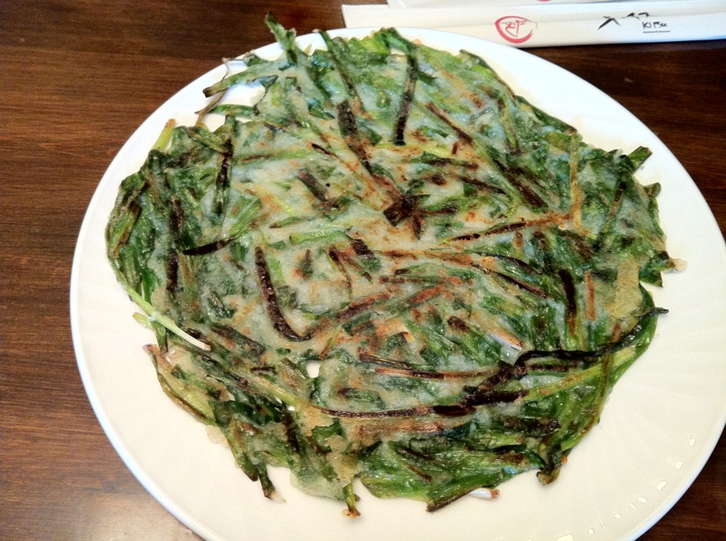 Korean Food - Veggie Pancake